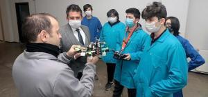 Öğrenciler, pandemide boş durmadılar 'Nuri' yi geliştirdiler