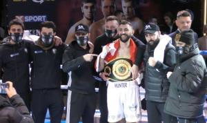 Tamer Avcı boksta kıtalararası şampiyon