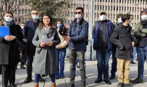TGS'den gazetecilere yönelik polis şiddetine karşı suç duyurusu
