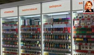 Tüm Eczacı İşverenler Sendikası Genel Başkanı Nurten Saydan süpermarketlerde satılan vitaminlerle ilgili konuştu