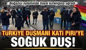 Türkiye düşmanı Kati Piri'ye soğuk duş! Boğaziçi eyleminde hayal kırıklığına uğradı