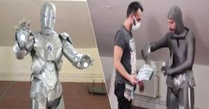 Yerli Ironman; 2 Kişi Yardımıyla 1 Saatte Giyinebiliyor