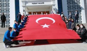 81 ilden Çanakkale'ye bayrak