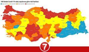 9 Mart illere göre koronavirüs risk haritası! Hangi illerde sokağa çıkma yasağı kalkacak?
