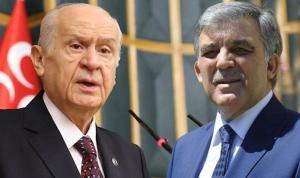 Abdullah Gül'den Bahçeli'ye videolu yanıt
