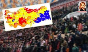 AKP kongrelerinin olduğu iller riski artırdı