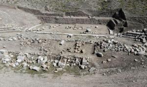Antik tiyatro ortaya çıktı