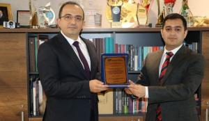 Azerbaycan'dan Haber7'ye anlamlı ödül!