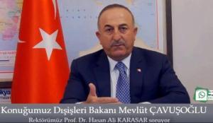 Bakan Çavuşoğlu: Pandemi ortamında 100 bin vatandaşımızı tahliye ettik