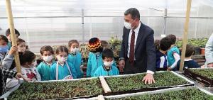 Başkan Ramazan Şimşek ile Minik Eller Toprağa Can Verdi…
