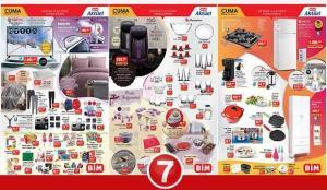 BİM 5 Mart Aktüel Kataloğu! Elektronik, tekstil, züccaciye, buzdolabı ve elektrikli ürünlerde..