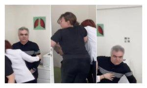 Bu Sefer Şiddet Doktordan Geldi: Profesör Hasta Yakınını Darp Etti