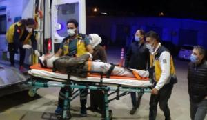Bursa'da bisikletli gence minibüs çarptı: 1 ağır yaralı