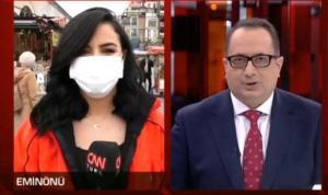 CNN Türk muhabirine canlı yayında küfür