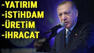Cumhurbaşkanı Erdoğan yeni periyodu açıkladı! İktisatta dört adımlı ıslahat