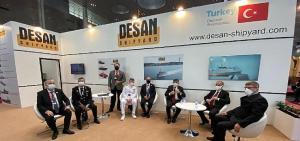 Emniyet Genel Müdürü Vali Mehmet Aktaş Katar'daki Millipol Fuarı'nda Türk şirketlerini ziyaret etti
