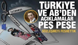 Erdoğan imzaladı! Türkiye ve Avrupa Birliği'nden İstanbul Sözleşmesi açıklaması
