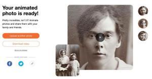 Eski fotoğrafları canlandırma uygulaması nasıl kullanılır?