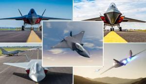 F-35'ler iptal! Türkiye'nin de radarındaki 6. nesil savaş uçağı Tempest'te bomba gelişme
