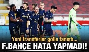 Fenerbahçe, Konya'da hata yapmadı!