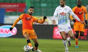 Galatasaray Rizespor'u ağırlıyor