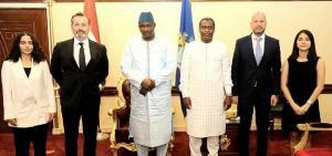 Gambiya Cumhurbaşkanı, Aktif Bank'ı ağırladı