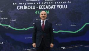 Gelibolu-Eceabat Yolu'nda geri sayım başladı