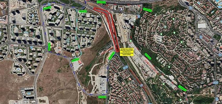 İBB'den Ispartakule'deki trafik yoğunluğuna neşter