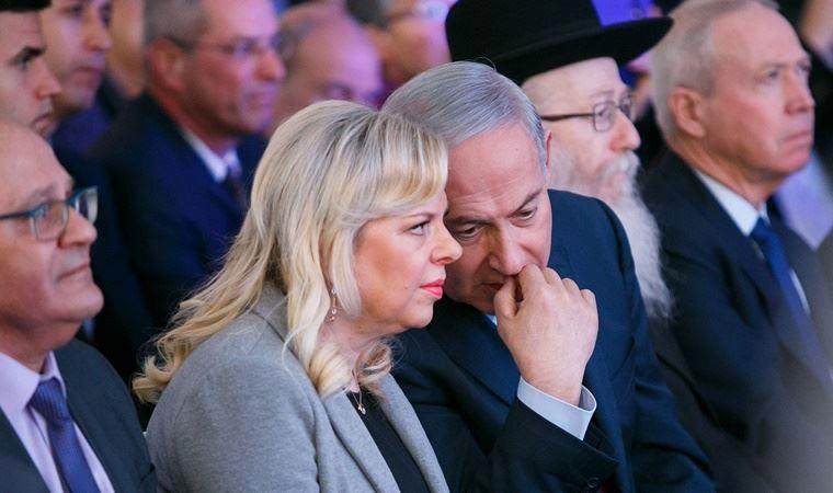 "İsrail'i sarsan iddia: ""Netenyahu eşiyle sözleşme yaptı"""