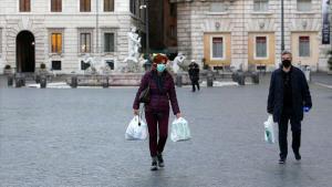 İtalya'da Koronavirüsle Mücadele Tedbirlerinin Süresi 6 Nisan'a Kadar Uzatıldı