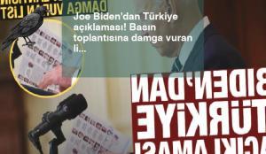 Joe Biden'dan Türkiye açıklaması! Basın toplantısına damga vuran liste