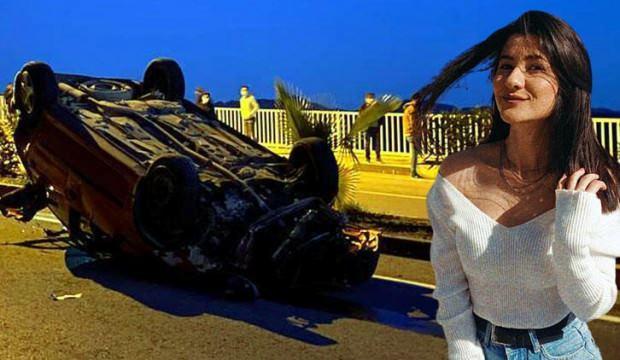 Kazada yaralanan Burcu'dan acı haber