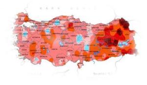 Korkutan tablo: Bazı bölgelerde yüzde 80'i aştı