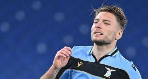Lazio'nun golcüsü Immobile, Altın Ayakkabı ödülüne kavuştu