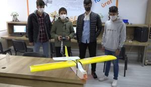 Lise öğrencilerinden yapay zekalı iHA