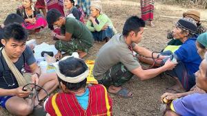 Myanmar'da darbecilerden kaçan binlerce Karen yerinden oldu