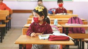 Okullar 4 ay sonra şenlendi