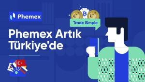 Phemex Türk Kullanıcılarını Bekliyor!