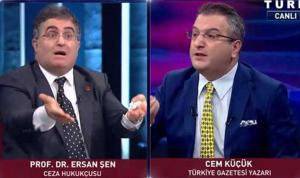 Prof. Dr. Ersan Şen ile Cem Küçük Arasında Canlı Yayında Sert 'Çözüm Süreci' Tartışması