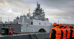 Rus Amiral Kasatonov fırkateyni, Aksaz Donanma Üssü'ne giriş yaptı