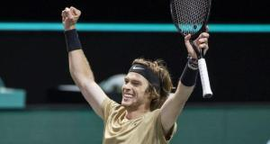 Rus tenisçi Andrey Rublev tarihe geçti
