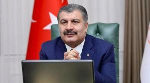 Sağlık Bakanı Koca: Tüm insanlık gördü ki sağlık çalışanı olmak ayrıcalıktır