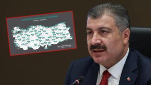 Sağlık Bakanı Koca, Vaka Sayısı En Çok Artan ve Azalan İlleri Açıkladı