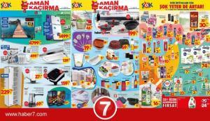 ŞOK 10 Mart Aktüel Kataloğu! Su arıtma cihazı, televizyon, cep telefonu züccaciye ürünleri..