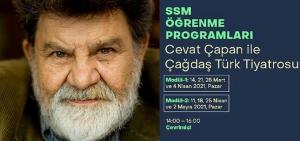 SSM Öğrenme Programları Cevat Çapan'ın 'Çağdaş Türk Tiyatrosu' seminerleriyle devam ediyor