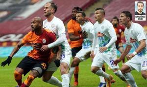 Stoper ve beklerin üst üste yaptığı hatalar Galatasaray'a pahalıya mal oldu