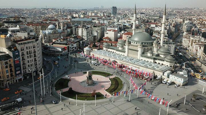 Taksim Camii'nde son durum: Ramazan'da ibadete açılacak