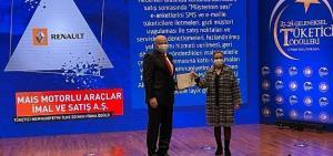 Ticaret Bakanlığı Renault Mais'in müşteri memnuniyeti ilkelerini ödüllendirdi