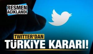 Twitter'dan son dakika Türkiye kararı! Resmen açıklandı