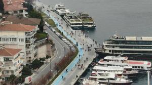 Üç ay sonra kısıtlama kalktı İstanbullular sahillere akın etti
